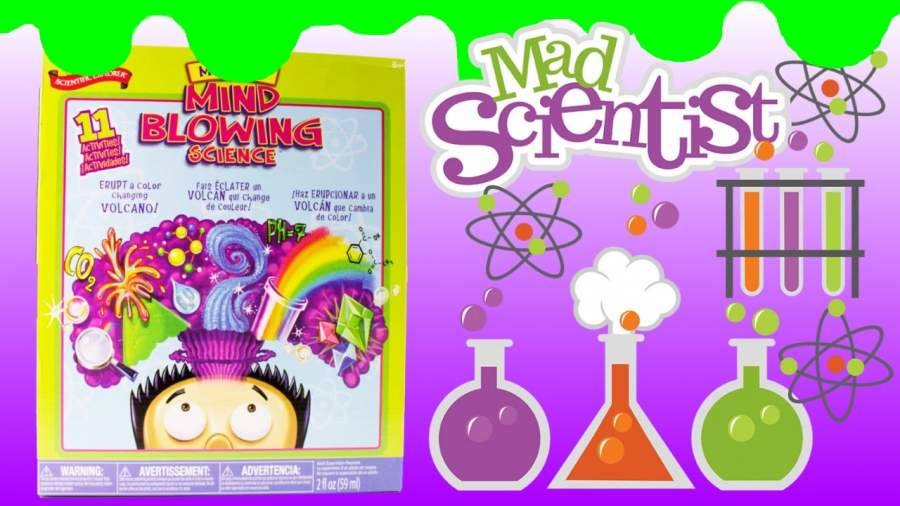 Mind-blowing science kit for kids