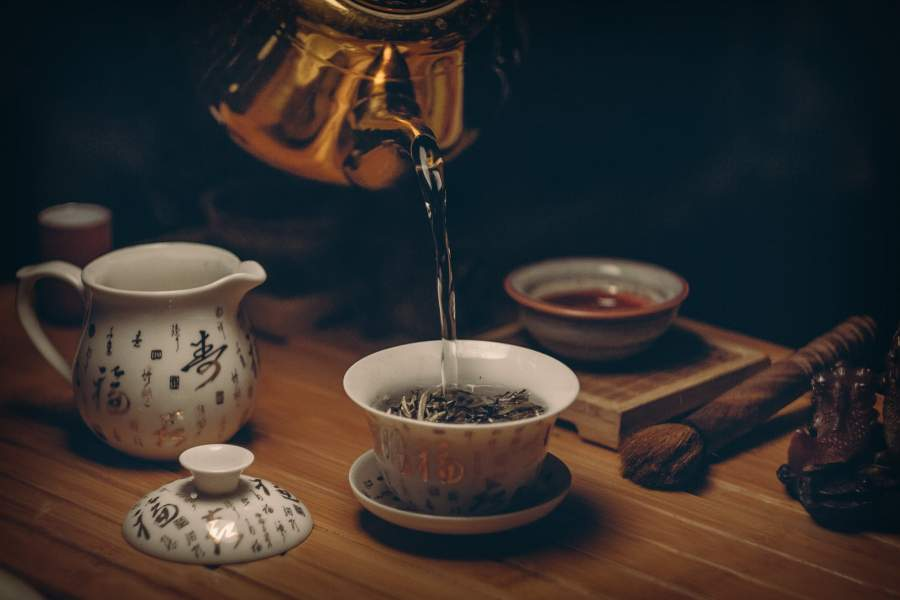 Develop a Green or White Tea Addiction