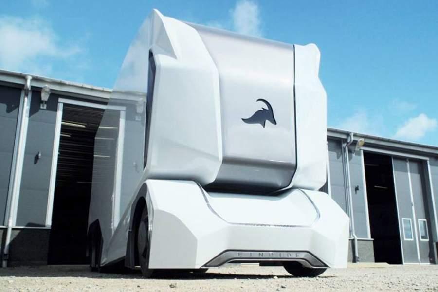 Einride Aerodynamic Drone Trucks