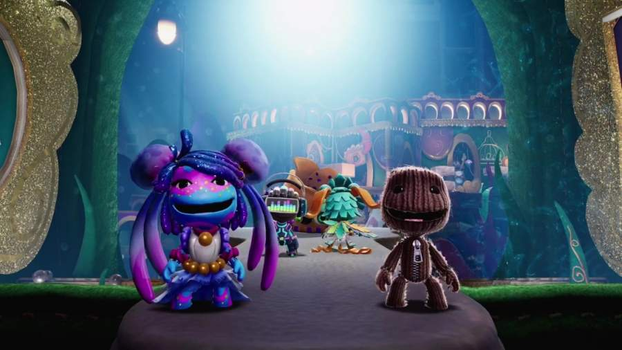 Sackboy A Big Adventure gameplay
