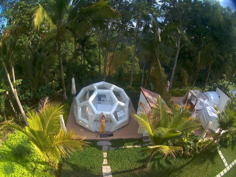 Jungle Bubble Lodge