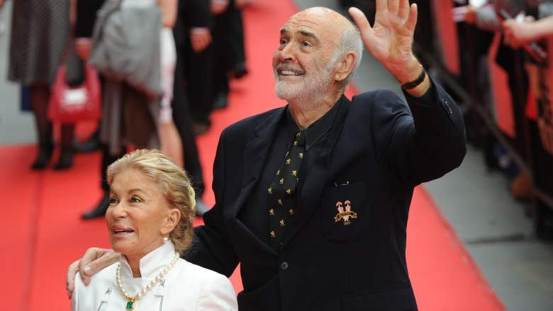 Sean Connery and Micheline