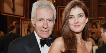 Jean Trebek and his wife Jean Trebek