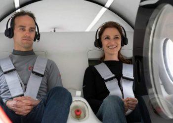 Dubai Hyperloop Human Trial