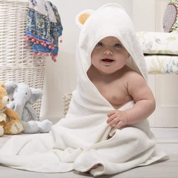 newborn baby hooded towels