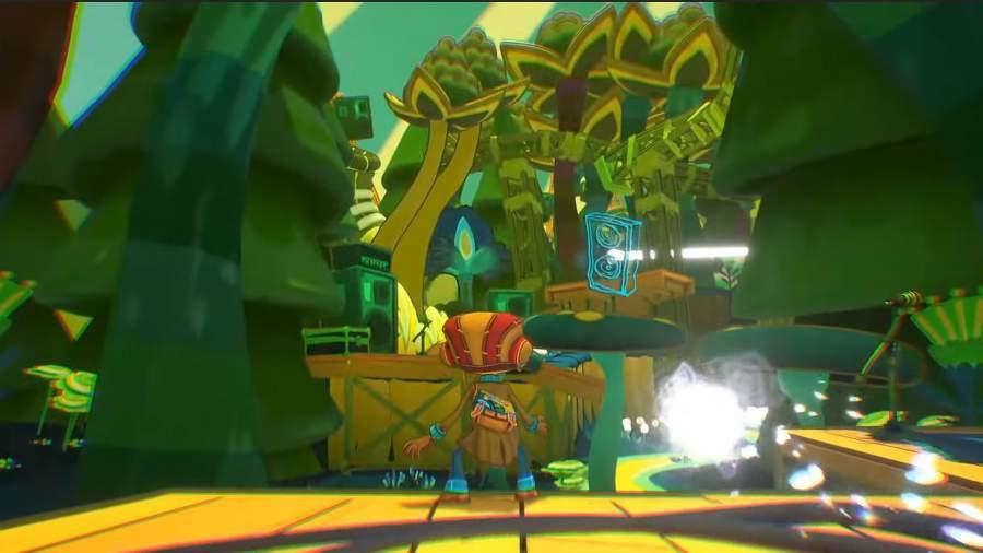 Psychonauts gameplay