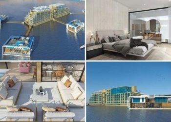 Floating Hotel in Dubai