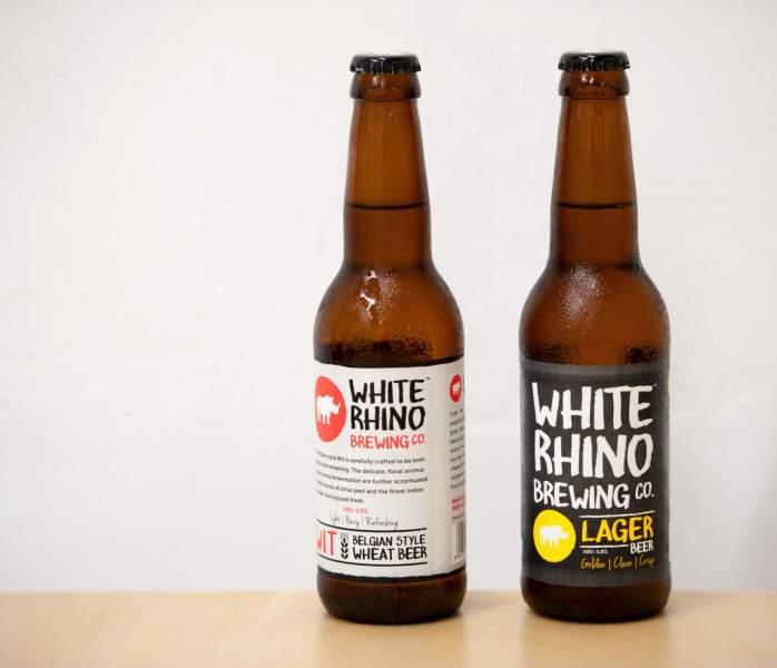 White Rhino beer