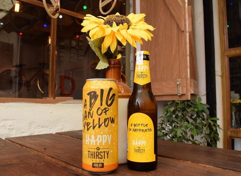 Happy by Thirsty beer
