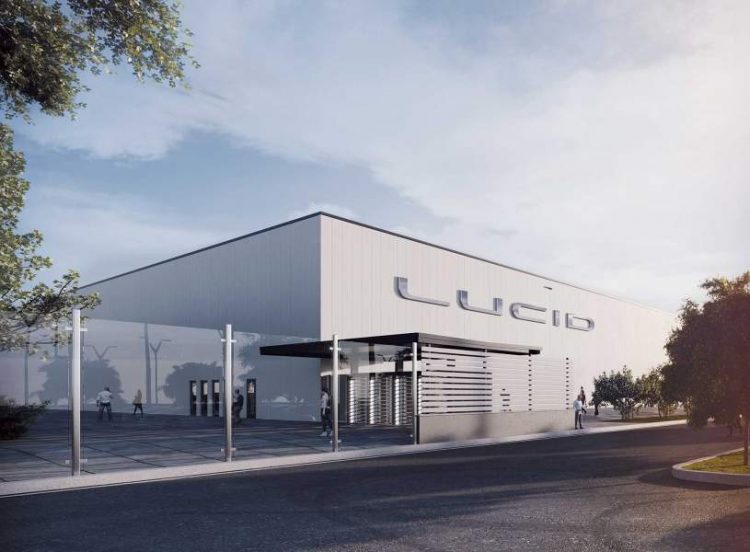 Lucid Motors' Electric car factory is ready for production