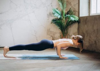 Plank Pose for 5 Minutes Daily