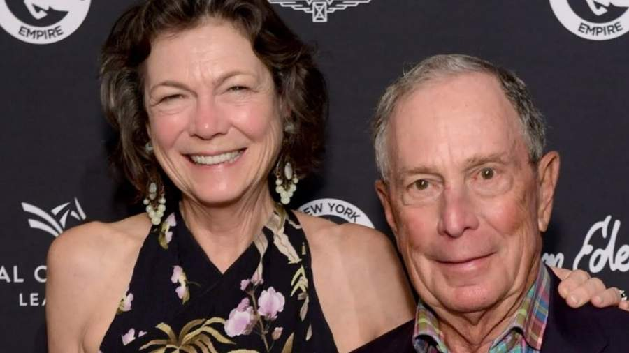 Michael Bloomberg and partner Diana Tayl