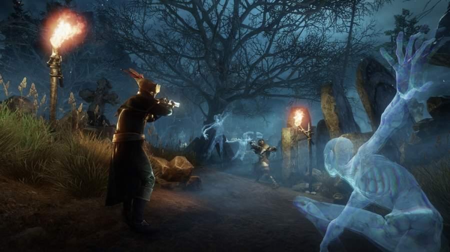 New World gameplay