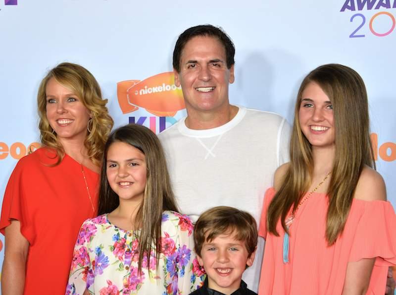 Mark Cuban wife and kids