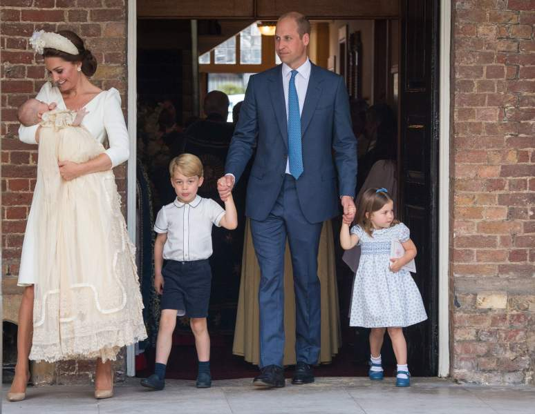 Prince William and Kate kids