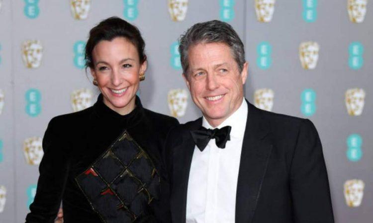 Hugh Grant Marriage with Anna Eberstein