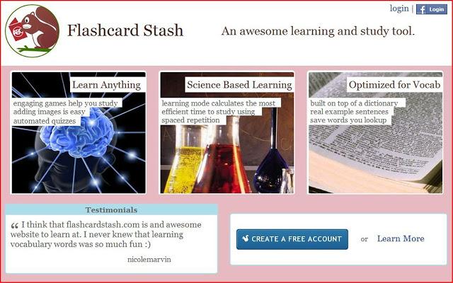 Flashcard Stash