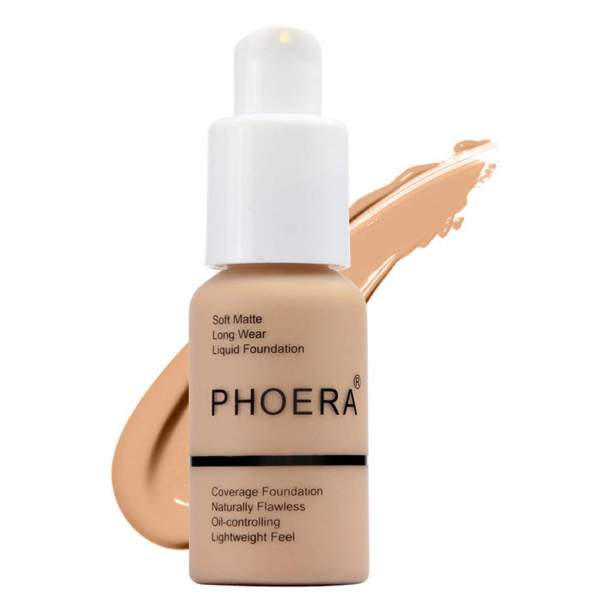 Phoera Matte Oil Concealer Foundation Cream