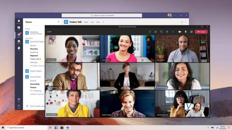 Screen Sharting in Microsoft Teams