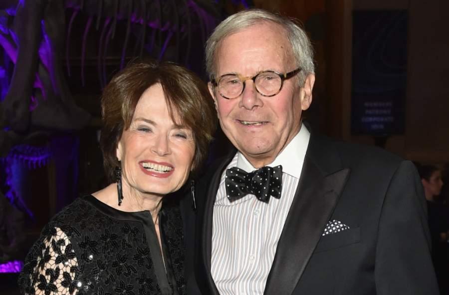 Tom Brokaw and wife Meredith Lynn Auld