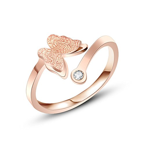 Butterfly Surgical Rose Gold Plated Jewellery