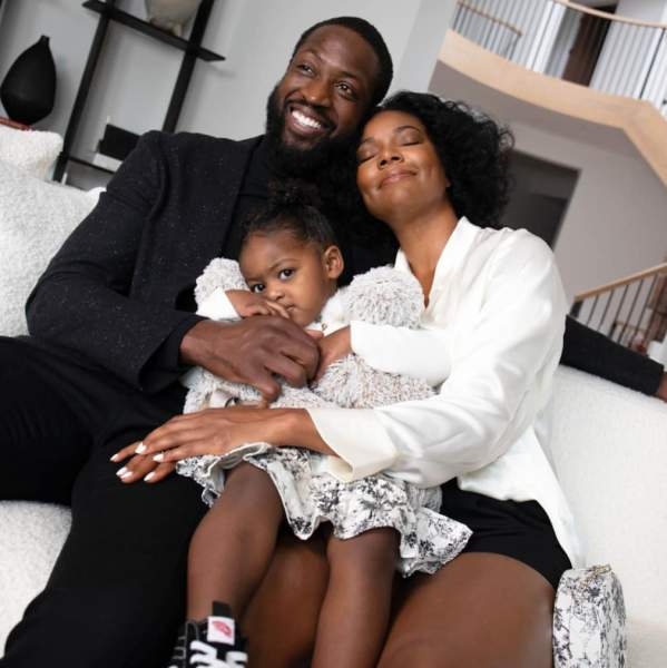 Kaavia James Union Wade's Parents