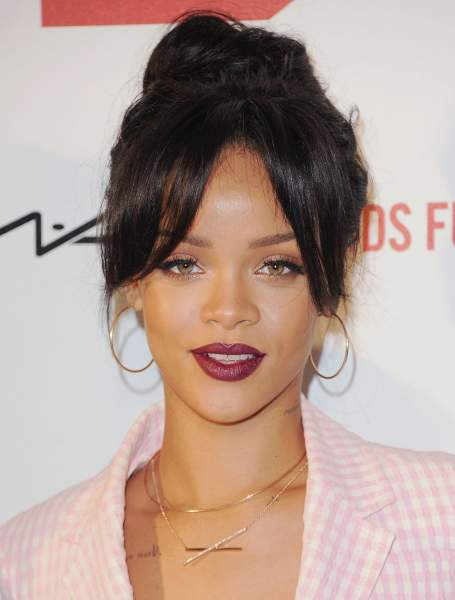 Rihanna - Square Face Shape