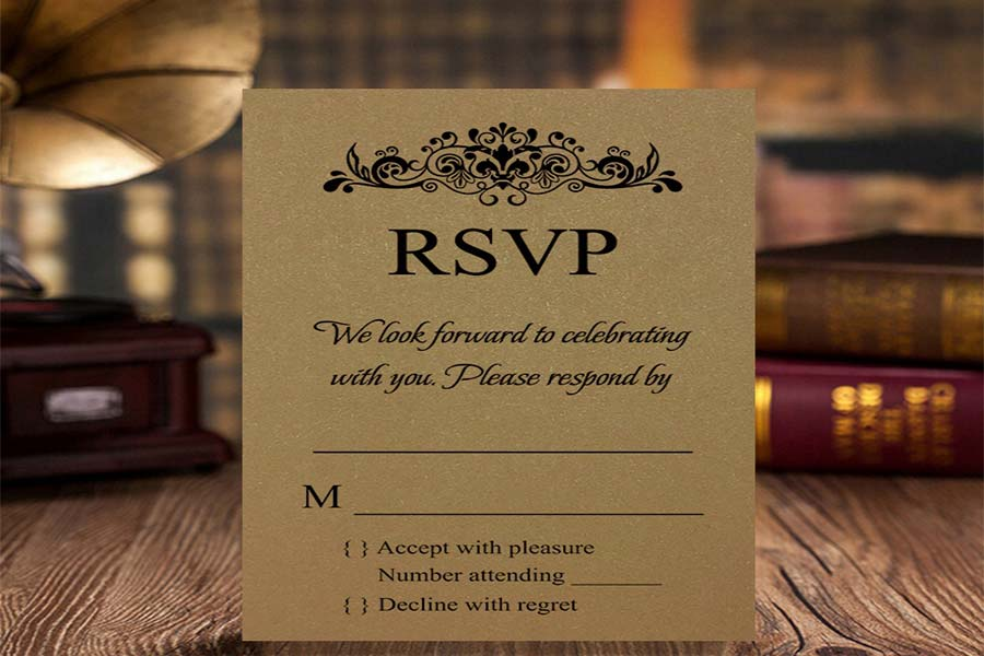 Changing or Canceling an RSVP
