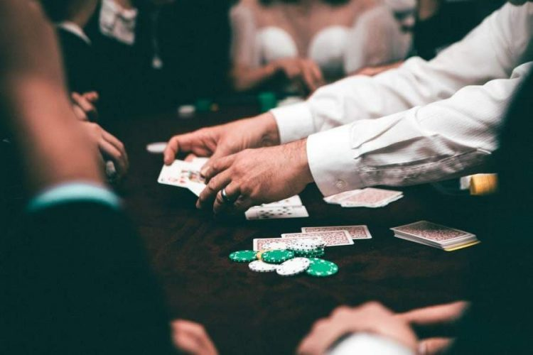 Online and in person Poker