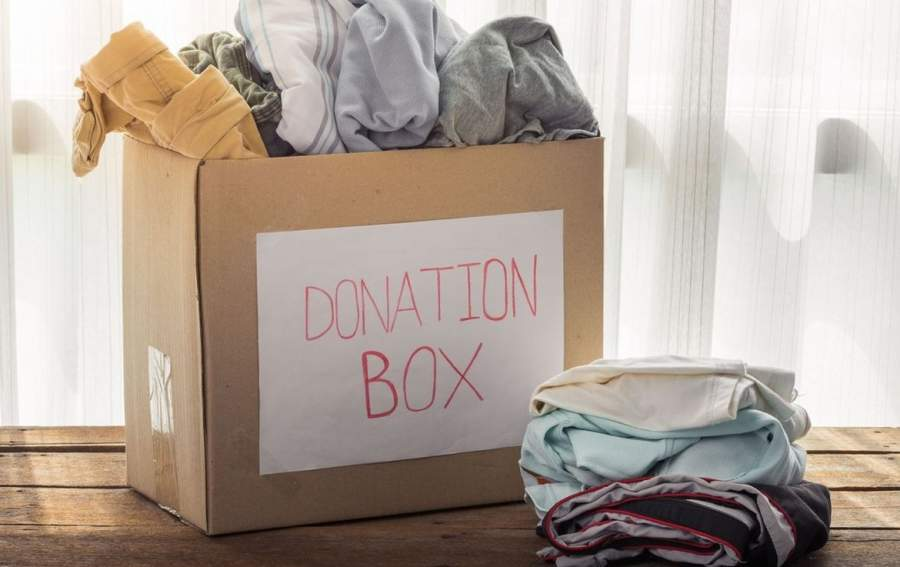 Donate current clothes