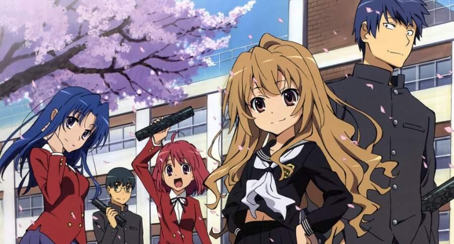 Toradora anime series