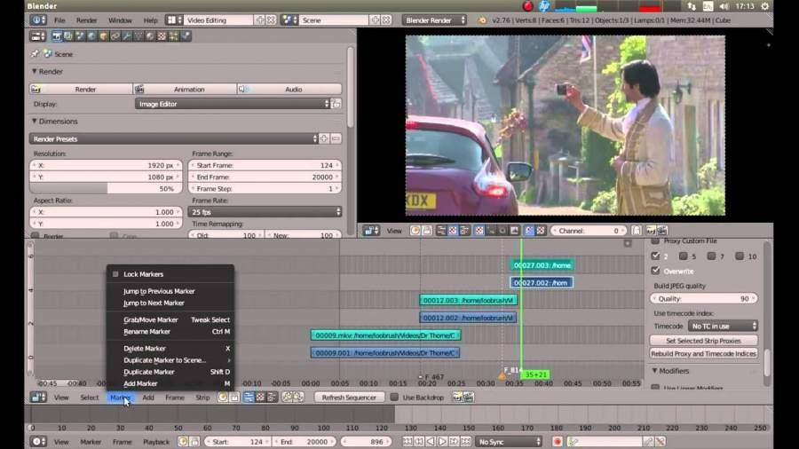Blender Online Movie Maker