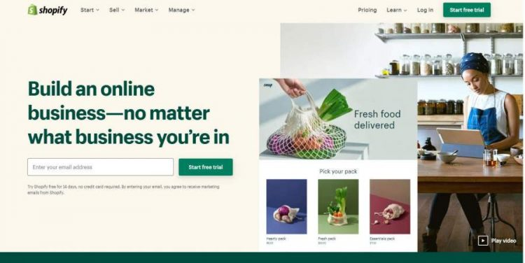 Shopify Easy Ecommerce Store