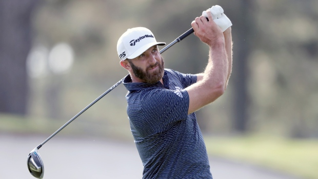 Dustin Johnson golfer