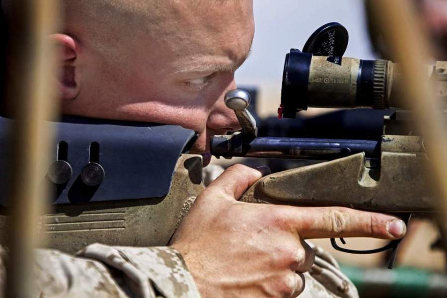 Adjust The Reticle And Eye Relief
