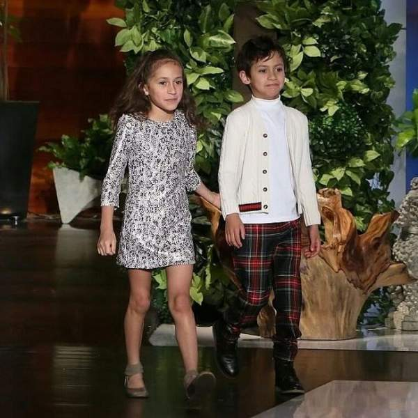 Emme and her twin brother Max