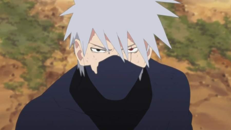 Kakashi's mask- Naruto
