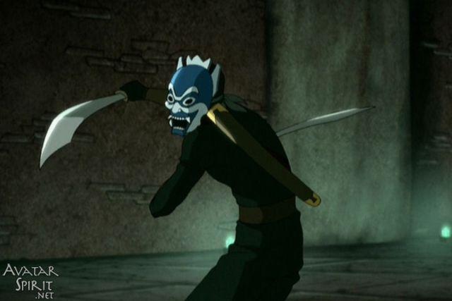 Blue Spirit Mask