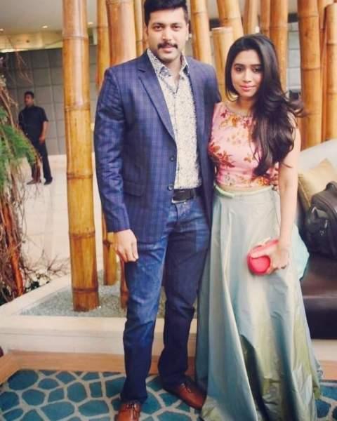 Aarav Ravi Parents - Jayam Ravi and Aarthi