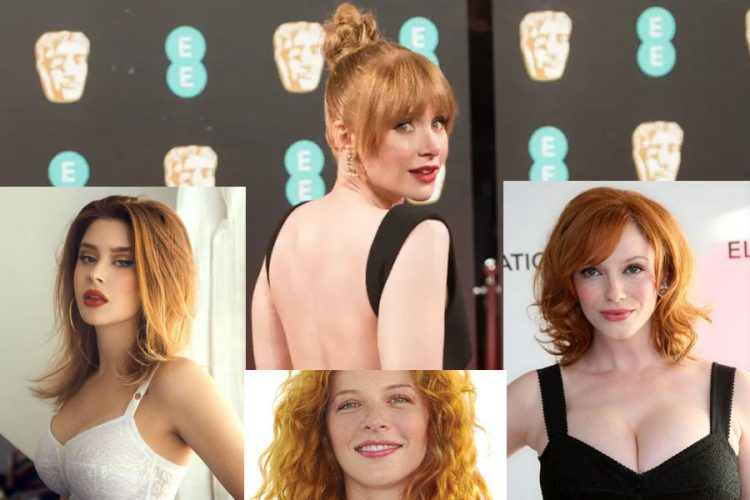 Hollywood Redheads Actresses
