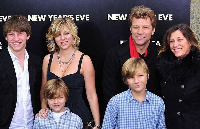 Romeo Jon Bongiovi family