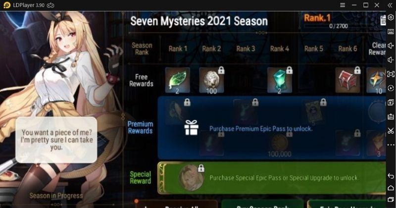 Epic Seven Mystery 2021 Season