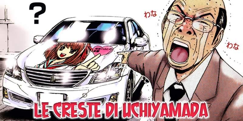 Toyota Cresta from GTO owned by Vice Principal Uchiyamada