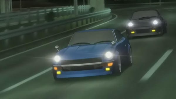 The Devil Z from Wangan Midnight - Anime Cars