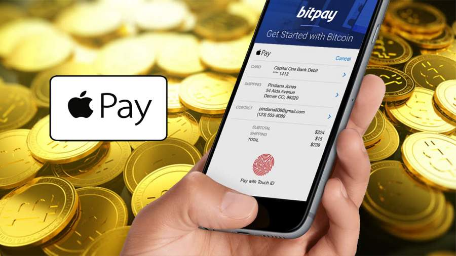 Use Cryptocurrency with Apple Pay