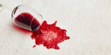 Remove Red Wine Stains from Carpet