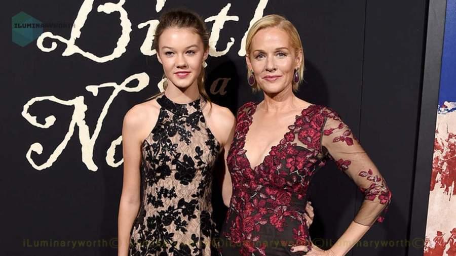 Penelope Ann Miller daughter Eloisa-May-Huggins