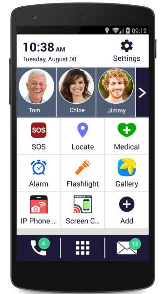Senior Safety Phone for android