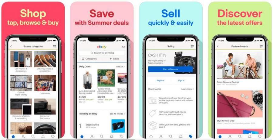 eBay Second-Hand Shopping