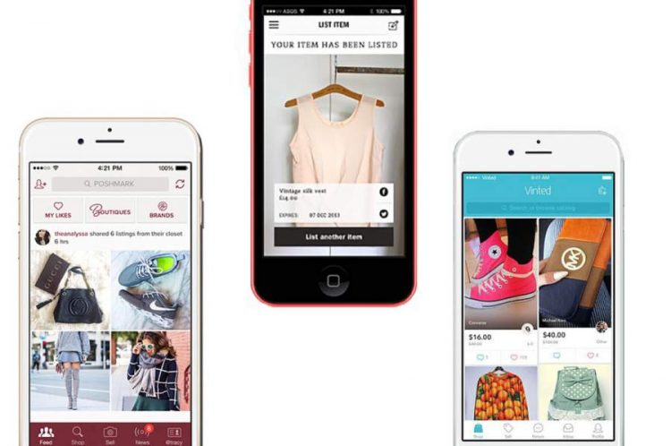 Clothing Apps for Second-Hand Shopping